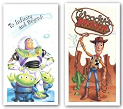 "Buzz and Woody Set by Walt Disney 24""x12"" Art Print Poster"