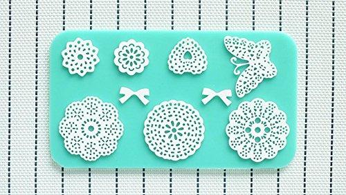 1pcs, Promotion Silicone Mold Lace Cake Molds Fondant Tools Forma De Bolo Cake Decorating Tools Silicone Chocolate Mold Bakeware