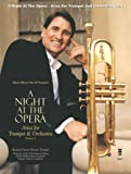 img - for Music Minus One Trumpet: A Night At The Opera: Arias For Trumpet & Orchestra, Volume 1 (sheet music and CD accompaniment) book / textbook / text book