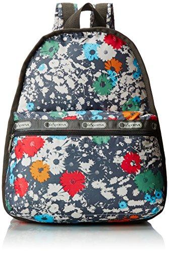 LeSportsac Basic Backpack, Chroma Flower, One Size