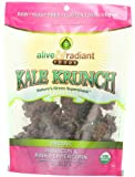 Alive and Radiant Kale Krunch, Hibiscus and Pink Peppercorn, 2.2 Ounce