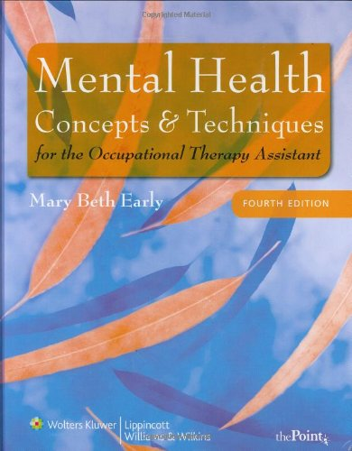 Mental Health Concepts and Techniques for the...