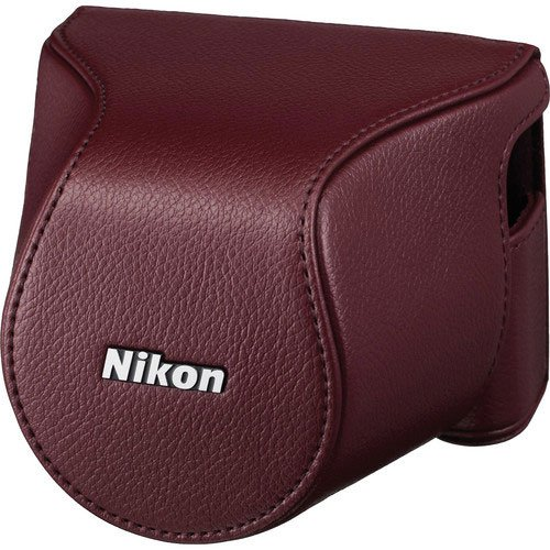 Nikon1 J3/S1用 ボディーケースセット CB-N2200 (ワインレッド)