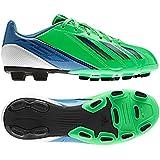 adidas Men's F5 TRX FG 2012 Soccer Shoe, Green Zest/Running White/Dark Blue
