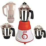 First Choice 600 Watts MG16-43 Red And White 4 Jars Mixer Grinder Direct Factory Outlet