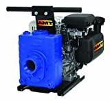 AMT Pump 4222-V5 Engine Driven AG/Dewatering Pump with Briggs& Stratton Engine, Cast Iron, 4 HP, Curve B, 2