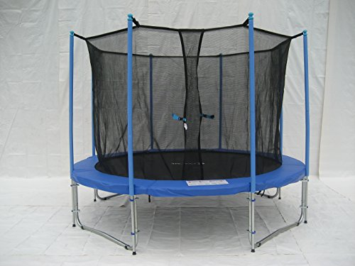 Exacme-6W-Legs-Trampoline-with-Safety-Pad-Intra-Enclosure-Net-Ladder-Combo-14