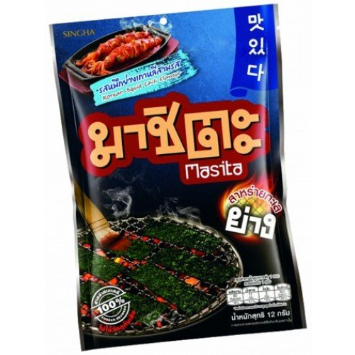 Masita Seaweed Flavored Grilled Squid, Grilled Korean Flavors 12 g. (Zojirushi Food Jar Kids compare prices)