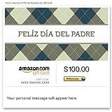 Amazon Gift Card - E-mail - Feliz Dia del Padre (Argyle)