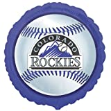 Colorado Rockies Baseball Foil Balloon