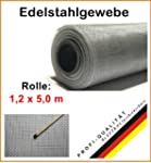 Edelstahlgewebe (ab 10,95 EUR/ m�) Br...