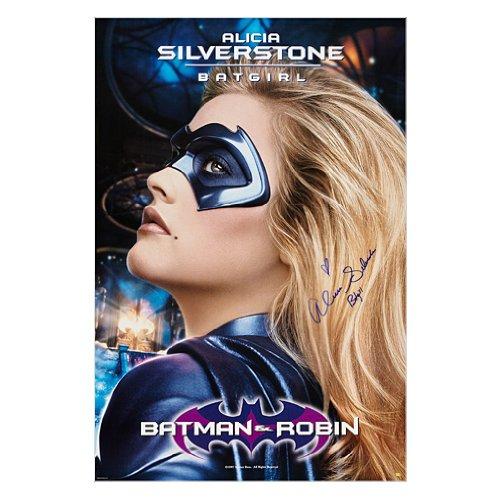 Alicia Silverstone Autographed 27x40 Batman & Robin