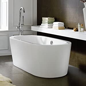 1685 Mm Modern Freestanding Bath Luxury Double Ended Small Bathroom Bathtub