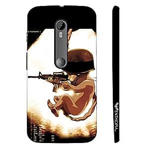 Motorola Moto G3 3rd Gen SOLDIER BABY designer mobile hard shell case by Enthopia