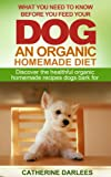What You Need To Know Before You Feed Your Dog An Organic Homemade Diet - Discover the healthful organic homemade recipes dogs bark for (1)