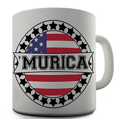 American Red Neck Speak Murica Funny Gift Ceramic Mug