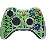 Seattle Seahawks Xbox 360 Wireless Controller Skin - Seattle Seahawks - Blast Green | NFL & Skinit Skin