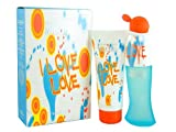 Moschino I Love Love Eau De Toilette Gift Set for Women 50ml