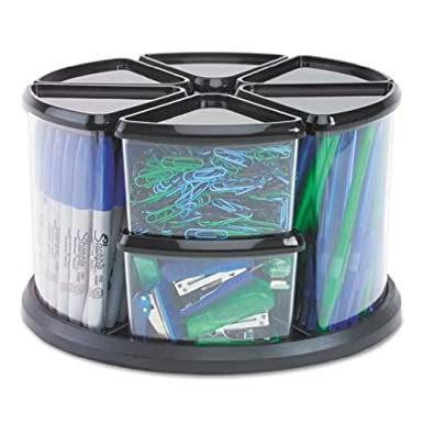 Deflecto Canister carousel organizer,