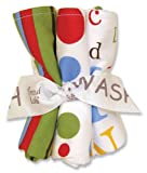 Trend Lab Dr Seuss ABC Wash Cloth Bouquet, 5 Piece