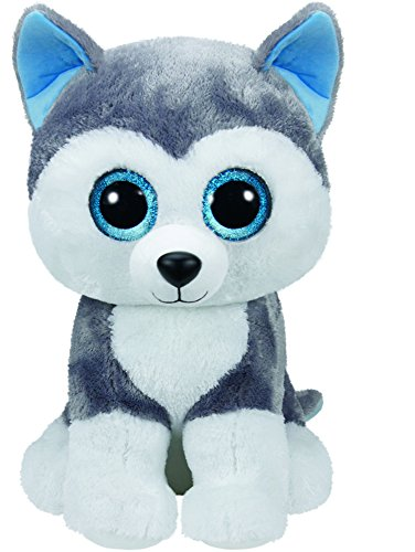 Ty Beanie Boos Buddies Slush husky Large Plush (Big Beanie Babies compare prices)