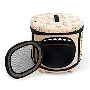 WOpet® Pet Dog Cat Carrier EVA Nylon Breathable Box House for Small Dogs Cats Puppies