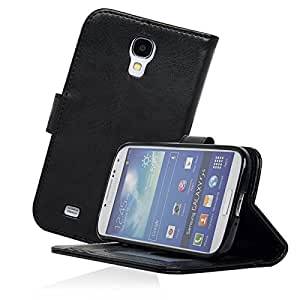 Navor Samsung Galaxy S4 Life Protective Book Style Folio Wallet Leather Case with Rubberized Finish Hard Shell...
