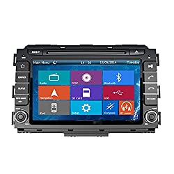See Crusade Car DVD Player for Kia Carnival 2015- Support 3g,1080p,iphone 6s/5s,external Mic,usb/sd/gps/fm/am Radio 8 Inch Hd Touch Screen Stereo Navigation System+ Reverse Car Rear Camara + Free Map Details