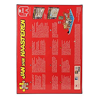 Jan van Haasteren - Safari and Storm 1000 Piece Jigsaw Puzzles (Pack of 2)