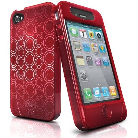 Iskin Solo Fx For Iphone 4 (Blaze Red)