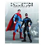 Nightwing vs Superman Injustice DC Comics Unlimited 2 Pack Action Figure