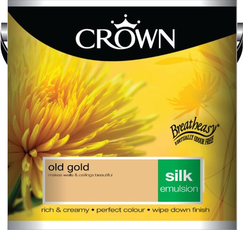 Crown Silk 2.5L Emulsion - Old Gold
