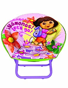Nickelodeon Dora the Explorer Toddler Saucer Chair