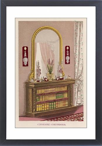 Framed Print Of Converted Bookcase