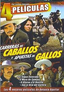 Amazon.com: Carreras de Caballos y Apuestas de Gallos - 4 Peliculas
