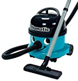 Numatic NRV200-22 Blue Commercial Bagged Cylinder Vacuum Cleaner, Blue