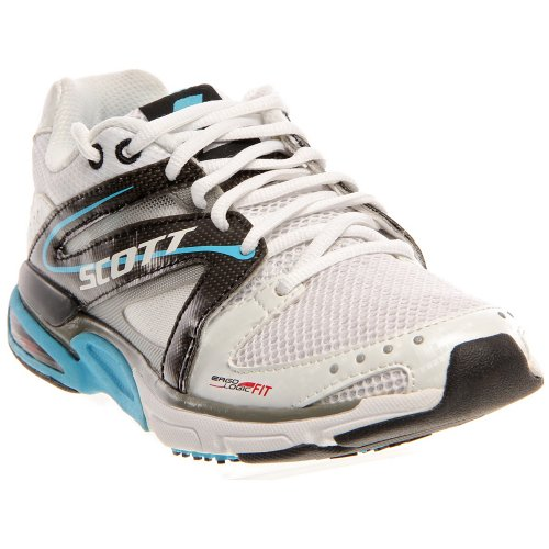 SCOTT eRide Trainer Women Color: White/Aqua Womens Size: 7