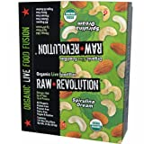 Raw Revolution, Organic Live Food Bar, Spirulina & Cashew, 12 Bars, 2.2 oz (62 g) Each