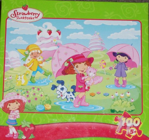 Strawberry Shortcake Rain Showers 100 Piece Puzzle