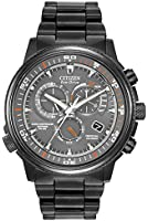 Citizen Nighthawk A.T. Men's Quartz Watch with Analogue Display and Stainless Steel Bracelet