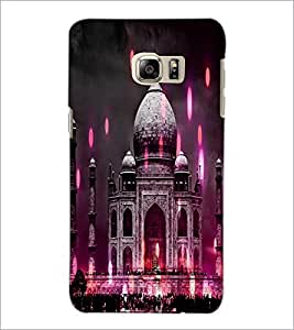 PrintDhaba Taj-Mahel D-3865 Back Case Cover for SAMSUNG GALAXY NOTE 5 (Multi-Coloured)