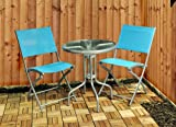 Kingfisher FSBT Textoline Bistro Table and Chair Set