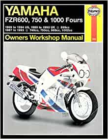yamaha fzr600 750 1000 owners workshop manual haynes. Black Bedroom Furniture Sets. Home Design Ideas