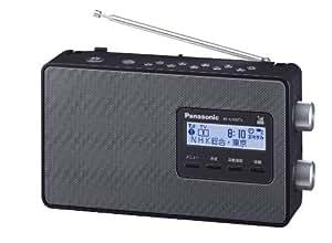パナソニック FM/AM ワンセグTV音声 3バンドレシーバー ラジオ ブラック RF-U100TV-K