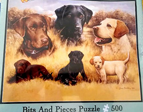 Bits and Pieces 500 Piece Jigsaw Puzzle - Rascals