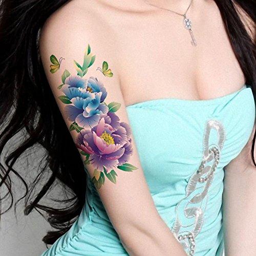 tafly-farfalla-grande-peonia-fiore-corpo-arte-temporanea-tatuaggio-trasferimento-adesivo-5-fogli