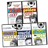 Dan Freedman Jamie Johnson Football Series 5 Books Collection Pack Set RRP: £29.95 (Golden Goal, Kick Off, Man of the Match, Shoot to Win, World Class) Dan Freedman