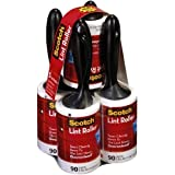 ScotchTM 3M Jumbo 90 Sheet Lint Rollers - 5pk (a total of 450 sheets)