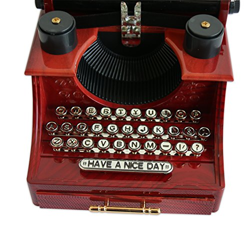 Alytimes Vintage Typewriter Music Box for Home/Office/Study Room Décor Decoration 6