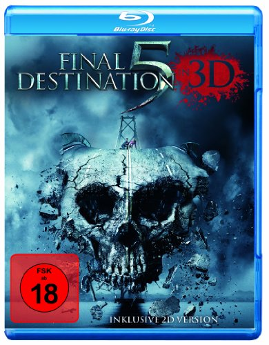DVD * Final Destination 5 (2D/3D) (2 Discs) [Blu-ray] [Import allemand]